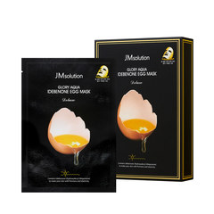JMsolution Осветляющая яичная тканевая маска JMsolution GLORY AQUA IDEBENONE EGG MASK DELUXE,30 мл