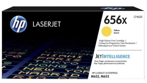 Оригинальный лазерный картридж HP CF462X 656X желтый