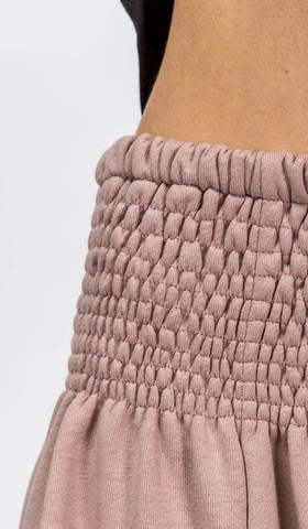 Зимние штаны шаровары Лаванда