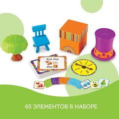 Развивающая игра Лисичка в коробочке, с карточками (65 элементов) Learning Resources