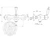 Смеситель для душа Migliore Dallas ML.DLS-6838 схема