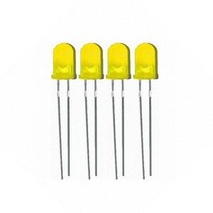 Светодиоды 3 мм (4шт) цвета в ассортименте