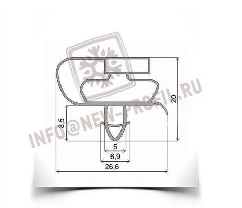 Уплотнитель 68*56 см для холодильника Атлант МХМ-1817-33 (морозильная камера) Профиль 021