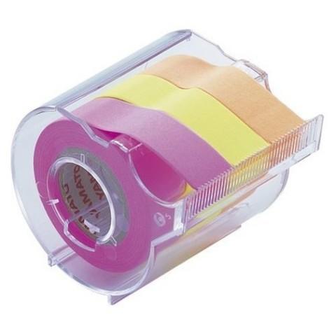 Диспенсер Yamato Memoc Roll Tape 15 мм - Rose/Lemon/Orange