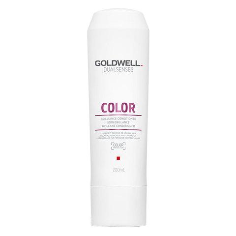 Кондиционер интенсивный для блеска окрашенных волос, Goldwell Dualsenses Color Brilliance Conditioner, 200 мл.