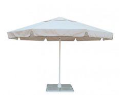Зонт Ø 3,5 м с воланом (стальной каркас с подставкой, тент OXF 300D) ПК