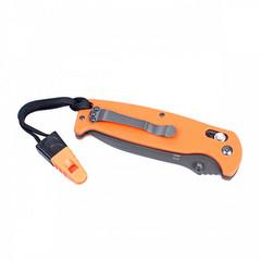 Складной нож Ganzo G7413-WS (оранжевый, черный, зеленый)