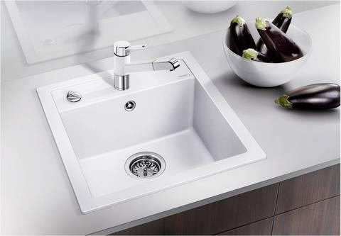 Мойка кухонная Blanco Dalago 5-F Silgranit Белый