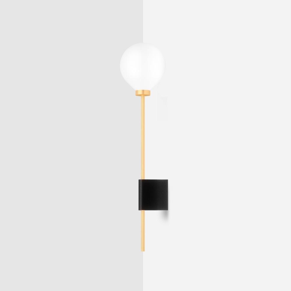 Настенный светильник Lanta черный гранит - вид 1