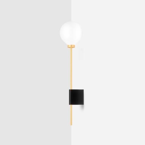 Настенный светильник Lanta черный гранит