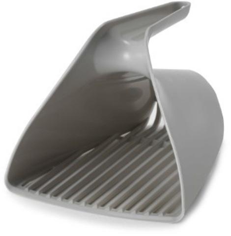 Moderna совочек Scoop & Sift 15x13x13h см отверстия узкие, серый