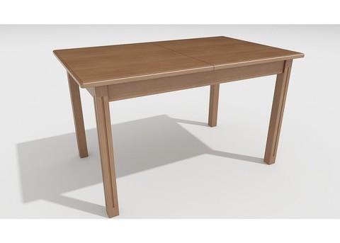 Стол обеденный Соболь деревянный прямоугольный раскладной дуб