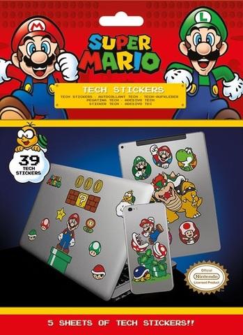 Набор tech-стикеров «Супер Марио»