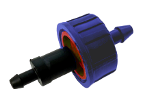 Комплект капельница PC 2 л/ч + адаптер для микротрубки
