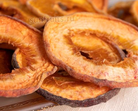 сушёные персики из Армении слайсы