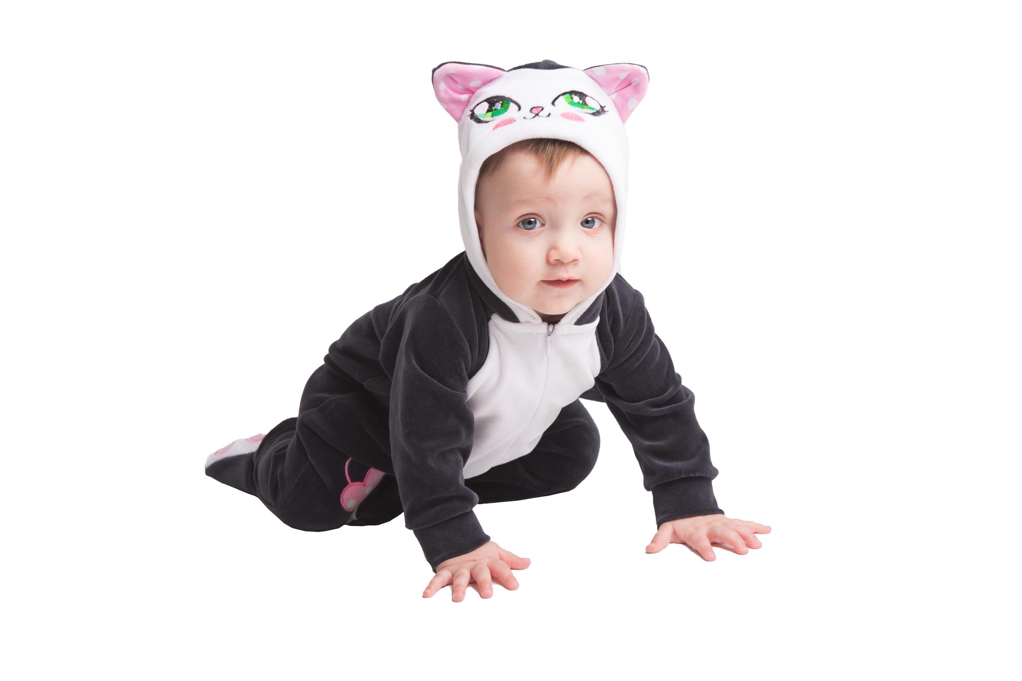 Детский костюм - комбинезон Котенок