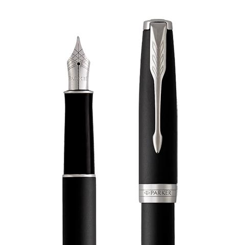 Перьевая ручка Parker Sonnet Matte Black CT123