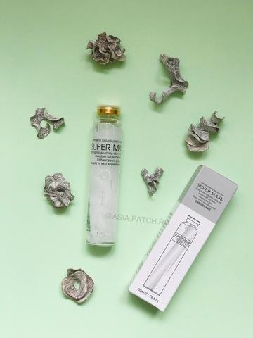 Маска-салфетка для лица с коллагеном в колбе BIOAQUA Super Mask Collagen Moisturizing Nourishing Mask, 50мл