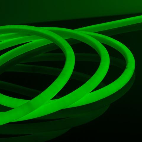 Комплект круглого гибкого неона зеленый 10 м 9,6 Вт/м 144 LED 2835 IP67 16 мм LS003 220V