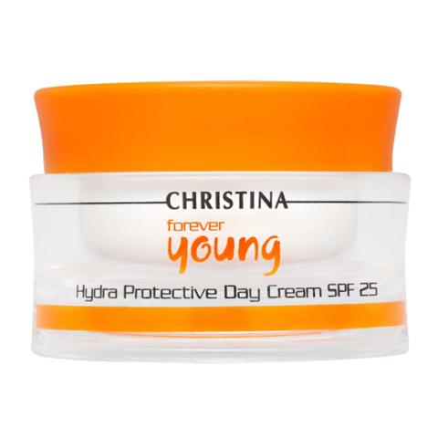Christina Forever Young: Дневной гидрозащитный крем для лица SPF-25 (Hydra Protective Day SPF-25), 50мл
