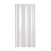 Дверь-гармошка белая Стиль ширина до 99 см