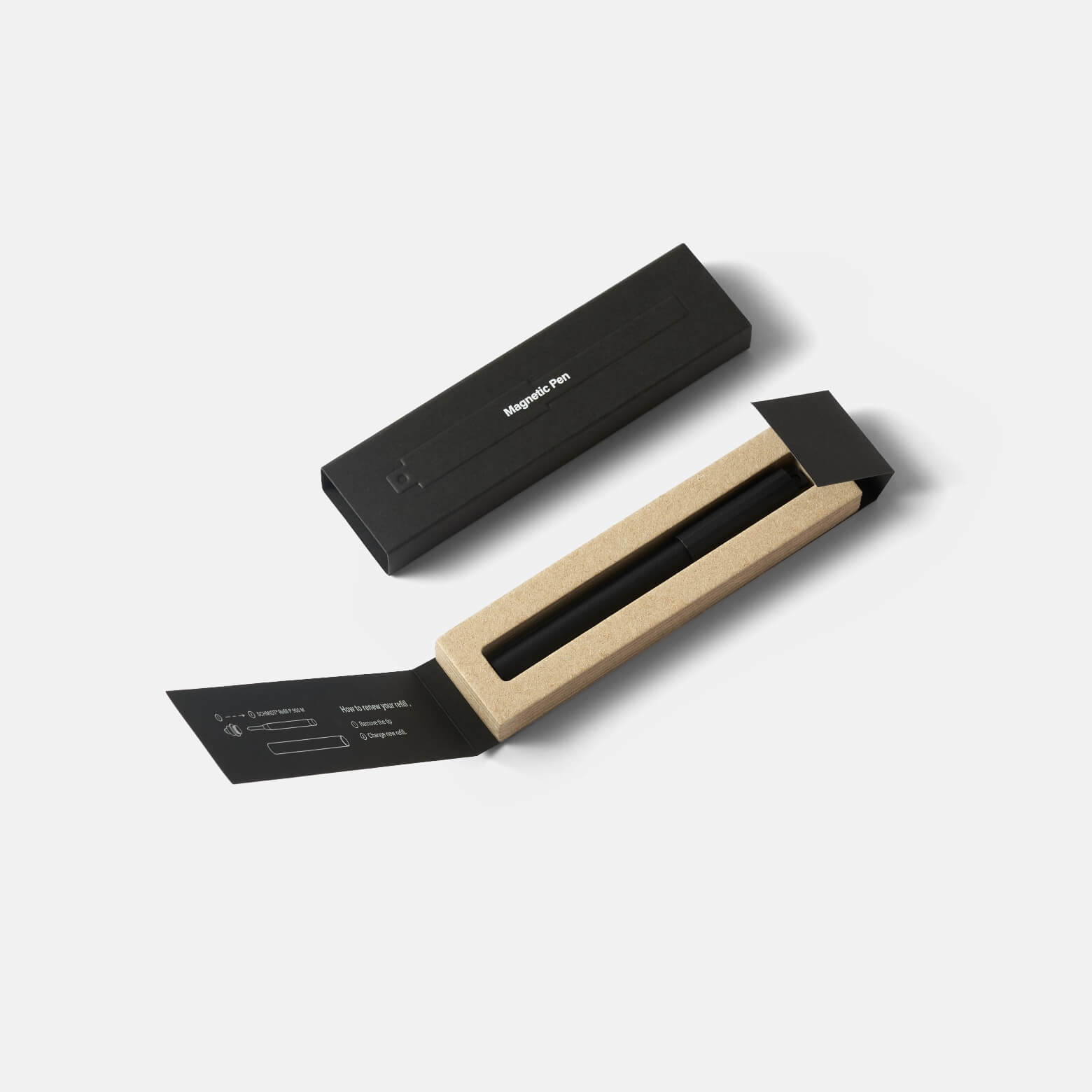 HMM Magnetic — алюминиевая ручка с магнитом