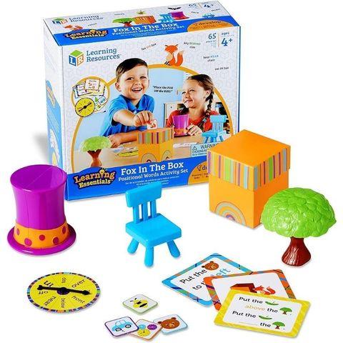 Развивающая игра Лисичка в коробочке, с карточками (65 элементов) Learning Resources, арт. LER3201