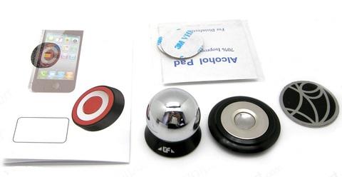 FEIYU UF-X - 4е поколение магнитных держателей как steelie для смартфона, планшета в авто