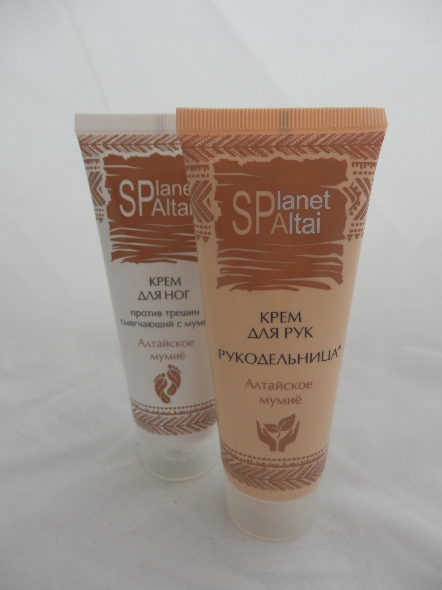 Planet SPA Altai Крем для ног против трещин смягчающий с мумиё фото2