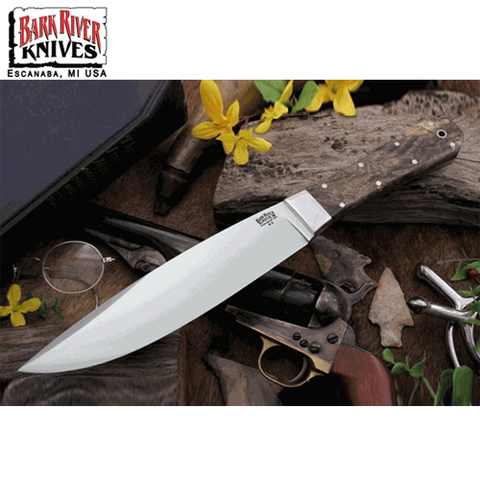 Нож Bark River модель Rogue California Buckeye Burl
