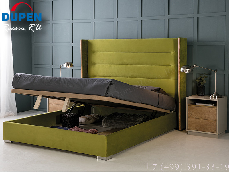 Кровать Dupen (Дюпен) 652 NORA verde