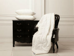 Одеяло шелковое стеганое 200x220 «Silk Familie Bio» легкое