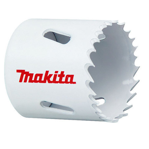 Биметаллическая полая коронка Makita 80 мм