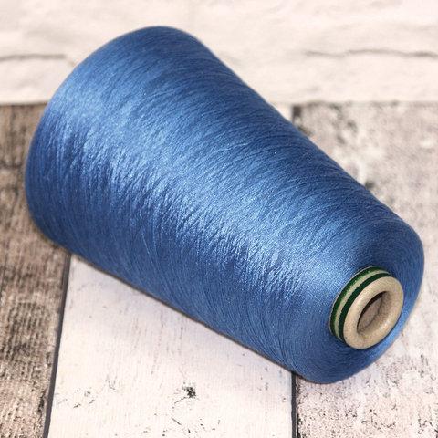 Шелк 100% HASEGAWA 2/120 светло-синий