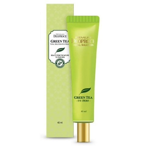 Deoproce Premium Green Tea Total Solution Eye Cream увлажняющий крем для век