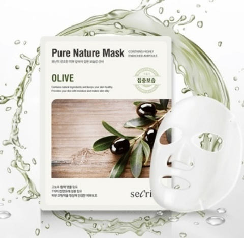 ANSKIN Secriss Pure Nature Mask Olive