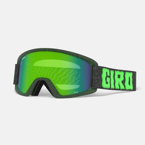 Маска GIRO SEMI Green Cosmic Slime/Loden Green 26/Yellow 84