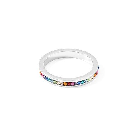Кольцо Multicolor Silver 18,4 0129/40-1517 58