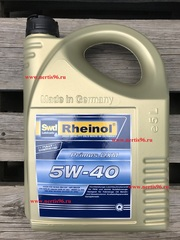 Масло моторное SWD Rheinol  Primus DXM 5W-40 син. (5л)