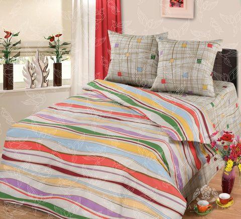 Комплект постельного белья Волна Премиум