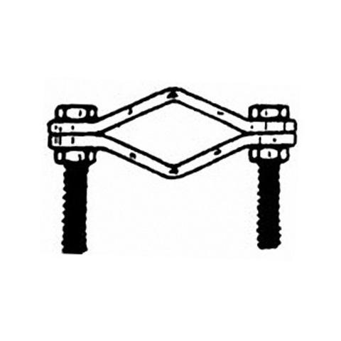 Крепление для фиксации кольца оттяжек GRAUTA S3045