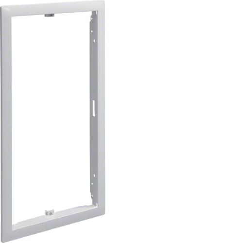 Наружная рамка без дверцы щитка для сплошных стен 9мм,Volta, 3-рядного RAL9010