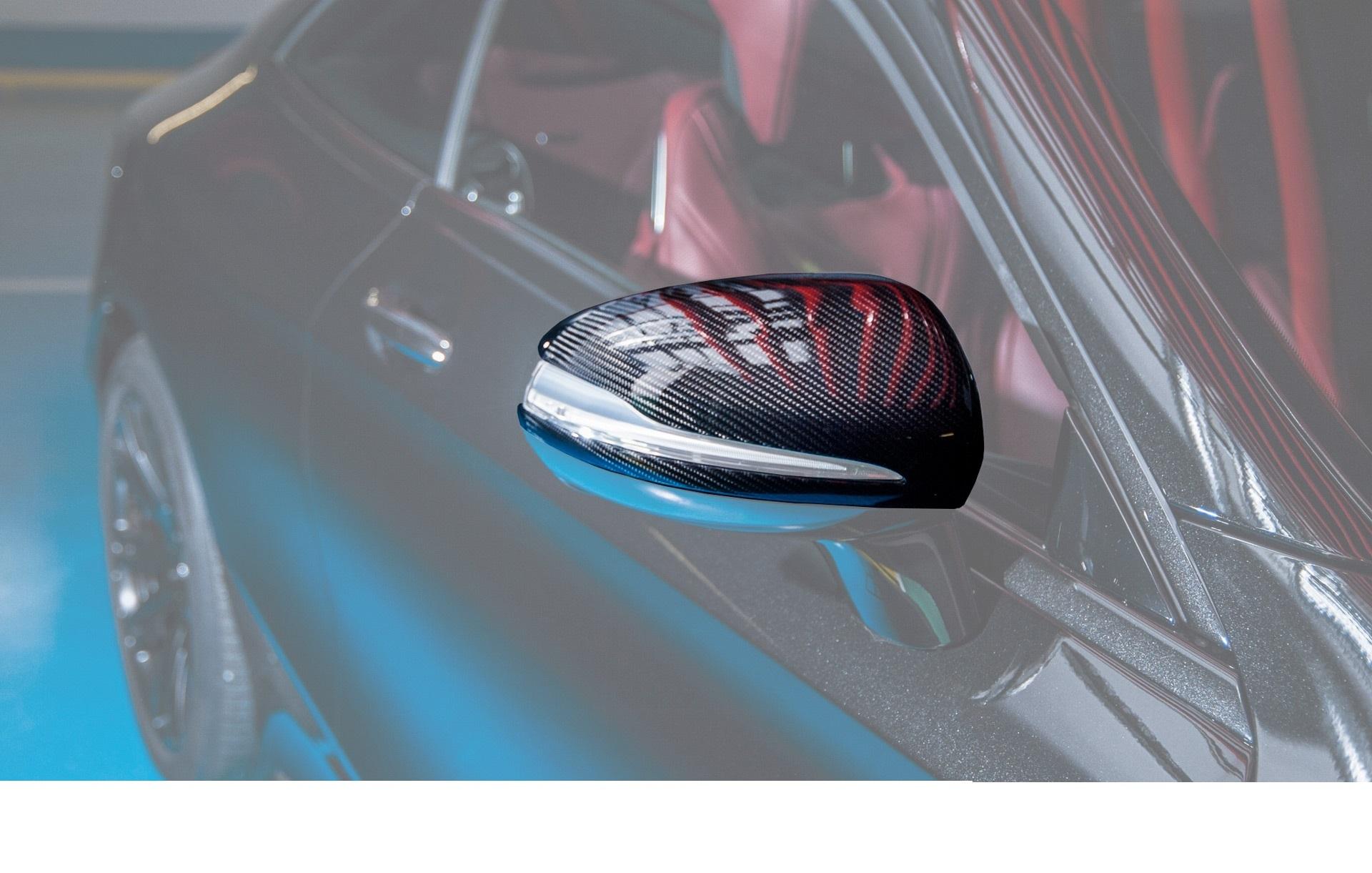 Корпуса зеркал S coupe c217