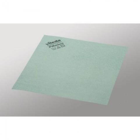 Салфетки хозяйственные Vileda Professional ПВАмикро микроволокно/ПВА покрытие 38x35 см зеленые 5 штук в упаковке (арт. производителя 143593)