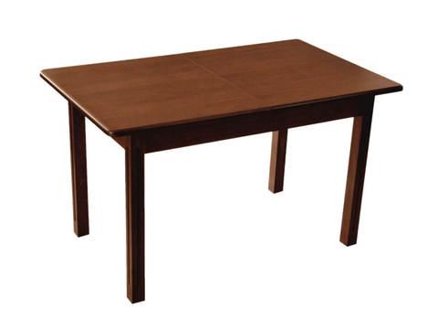 Стол обеденный Соболь деревянный прямоугольный раскладной коньяк