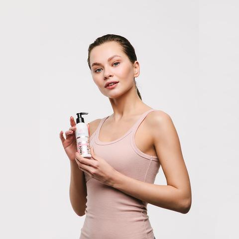 Ванильное молочко для тела, на основе растительного Сквалана