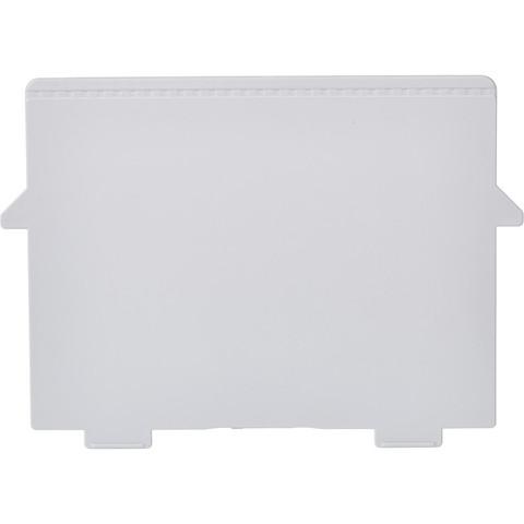 Разделитель для картотеки Exacompta горизонтальный пластиковый (A6, 2 штуки в упаковке)