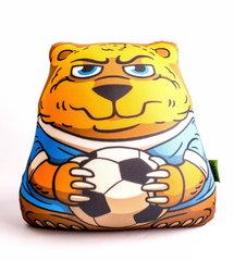 Подушка-игрушка антистресс Gekoko «Медведь-футболист» 2