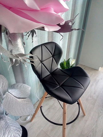 Барный интерьерный стул на четырех ножках Perfecto Long Style