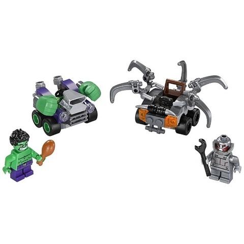 LEGO Super Heroes: Халк против Альтрона 76066 — Mighty Micros: Hulk vs. Ultron — Лего Супергерои Marvel Марвел DC Comics комиксы